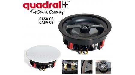 Quadral CASA; beépíthető hangsugárzó család